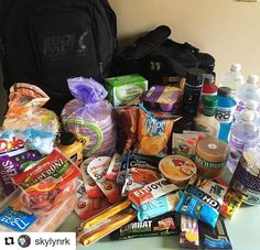 Someone went grocery shopping!Happy meal prep Monday! #Repost @skylynrk