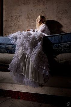 """an-enchanted-realm: """"The Princess and the Pea…. Fantasy Photography, Fashion Photography, Story Inspiration, Character Inspiration, Fairytale Fashion, Princess And The Pea, Deviantart, Faeries, Enchanted"""