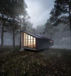 Arch Visualisation | House to catch the forest on Behance
