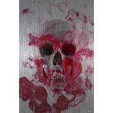 Found it at AllModern - Skull 2 - Art Print on Brushed Aluminum