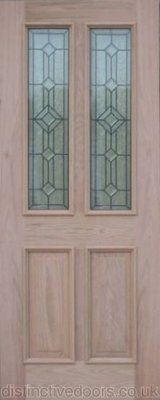 The Manor Oak external door comes complete with 2 triple glazed leaded glass panes and raised mouldings to the outside face for extra depth. Oak Front Door, Green Front Doors, External Doors, Oak Doors, Leaded Glass, Mirror, Google Search, Home Decor, Decoration Home