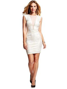 GUESS Women's Cap-Sleeve Foil-Print Body-Con Dress, TRUE WHITE MULTI (SMALL) GUESS http://www.amazon.com/dp/B00MA0VR14/ref=cm_sw_r_pi_dp_Yoqyub1MY5H0Z