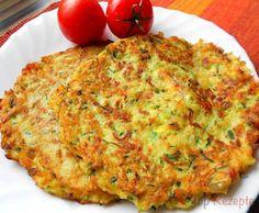 Zucchini-Kartoffel-Puffer mit Speck | Top-Rezepte.de