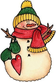 snowman decoupage | Desenhos Para Pinturas e Decoupage