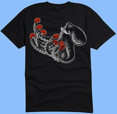 Boxtopus Octopus Tshirt Original Graphic Tee by RobopopDesigns on Etsy https://www.etsy.com/listing/216001024/boxtopus-octopus-tshirt-original-graphic