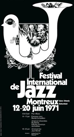 Montreux 1971 Artwork by Bruno Caeng