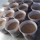 Bachlorette party shots? Dangerously Delicious! One package of chocolate pudding mix, half cup of vodka, half a cup of baileys, one cup of milk, whisk together into little cups and refridge for thirty min. top with whip cream! I suspect it would be a bad idea to make this for two people, but man it sounds yummy!