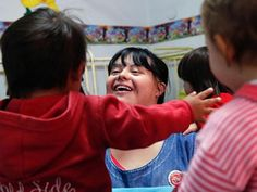 Noelia Garella, the Argentine woman who becomes one of the world's first teachers with Down syndrome.
