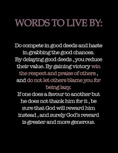 Words to live by  Quote  #Inspiration #Motivation