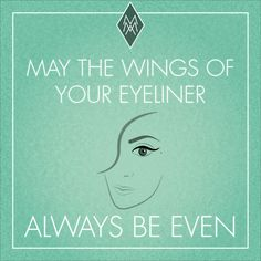 may the wings of your eyliner always be even #best #wish #eyeliner