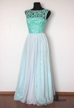 8653c4c18209 Spoločenské šaty Mentol s tylovou sukňou   Dyona