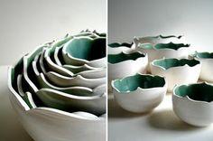Vajilla de porcelana y arcilla hecha a mano : Decorando Mejor