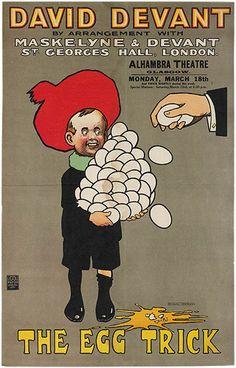 David Devant, The Egg Trick, c. 1910  Will Owen