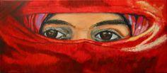 """Else, """"eyes"""" painting artist at art studio Moes"""