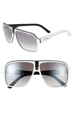 Carrera Eyewear 62mm Aviator Sunglasses available at #Nordstrom