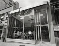 The Waffle Shop on 10th Street Washington DC. 1950 Exterior from side angle, day. Photo by Theodor Horydczak.