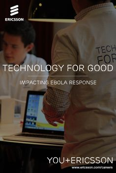 Ericsson volunteers programmed more than 1000 smartphones with mobile health apps to empower community health workers as the first line of defense in the fight against Ebola. Learn more and join us to make a difference in the world.