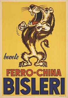 Ferro China Bisleri- Lion, Anonymous Artists