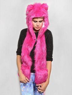 Pink Wolf by spirithoods