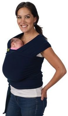 d32edecae58 boba® Wrap Baby Carrier in Navy Blue  affiliate link  Boba Baby Carrier