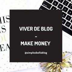 Como ganhar dinheiro com blog | How to make money blogging | Viver de Blog | Ganar dinero con blog | Dicas para blogs