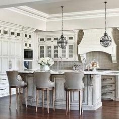 Get Your Kitchen Decor Ready for Winter W/ These White Bar Stools & 56 Best Kitchen island bar stools images in 2019 | Kitchen dining ...