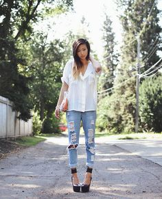 Don't wake me up (by Alyssa Lau) http://lookbook.nu/look/3990802-Don-t-wake-me-up  (GOTTA HAVE THAT DENIM...)