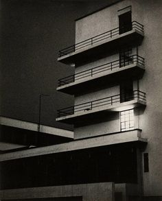 Lyonel Feininger, bauhaus dessau building march-26-1929 | Flickr - Photo Sharing!
