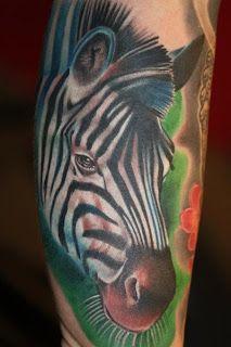 Love it. I need a zebra tattoo