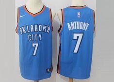 men 7 carmelo anthony jersey white oklahoma city thunder fanatics