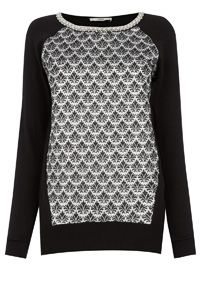 My new Jacquard Front Sweat deom Oasis <3
