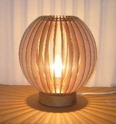 Table Lamp (laser-cut?)