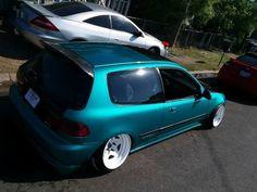 #Honda #Civic_Eg #Slammed #Modified #Stance #Camber