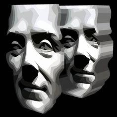 Spirit of Divisionism carved 3D box - - by Tony Karp – http://tonykarp3d.com