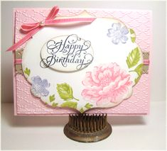 Stippled Blossoms by PattiLynn - Cards and Paper Crafts at Splitcoaststampers