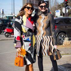 Anna Dello Russo x Giovanna Battaglia @anna_dello_russo @bat_gio @styledumonde #style #street #styling #stylish #streetstyle #streetfashion #luxury #luxuryfashion #luxurystyle #bag #shoes #sunglasses #hair #girls #skirt #design #designer