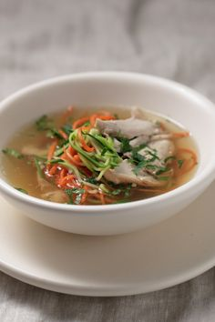 Polish Chicken Noodle Soup ( ROSÓŁ) : The Healthy Chef – Teresa Cutter