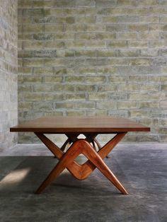 Pierre Jeanneret, Boomerang Table.
