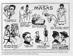 Vintage Photos Of People Wearing Masks During The 1918 Influenza Pandemic, One Of The Deadliest Natural Disasters In Human History Photo Vintage, Vintage Photos, Vintage Advertisements, Vintage Ads, Flu Epidemic, Flu Mask, San Francisco, Influenza, History Photos