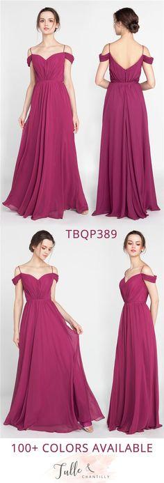 trending off the shoulder bridesmaid dresses tbqp389 #bridalparty #bridesmaiddress #weddinginspiration