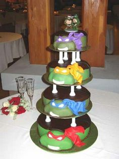 OMG i had a Ninja Turtle cake.. yes.. i know i'm a girl.. but mine was not this amazing!!!!!!