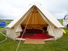Recommendations: 4 metre Deluxe Bell Tent