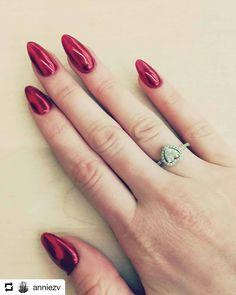 "Gel Nails EDI  #rednails #nails #gelnails #nails💅 #nailsnailsnails…"""
