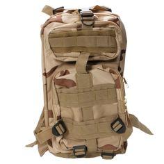 Sac+à+dos+tactiques+militaires+Sac+Trekking+Randonnée+Plein-air+Camping+Sport+3P+Camouflage+Couleur+Sable#tmart#promotion#remise#rabais#coupon#sport#sac#bonplan#deal#pascher#bag