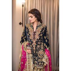 Pakistani Fashion Party Wear, Pakistani Formal Dresses, Pakistani Wedding Outfits, Pakistani Bridal Dresses, Pakistani Dress Design, Nikkah Dress, Bridal Lehenga, Frock Fashion, Fashion Dresses