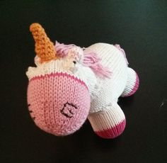 Despicable Me Fluffy Unicorn Free Knitting Pattern PDF file here: http://library.ravelry.com/inga22/344571/despicableMeFluffyUnicorn.pdf?AWSAccessKeyId=AKIAJNNSUP6J3RN4WZYQ&Expires=1396464277&Signature=NT11iH2ERkXiFoKa8Ddv7tTYZxs%3D