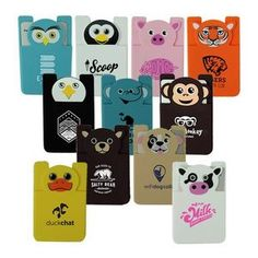Paws N Claws Silicone Mobile Card Pocket  Unique Branded Giveaway, Tech Giveaway, Mobile phones