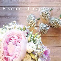 Bouquet de mariée et ses bouquets de demoiselles d'honneur