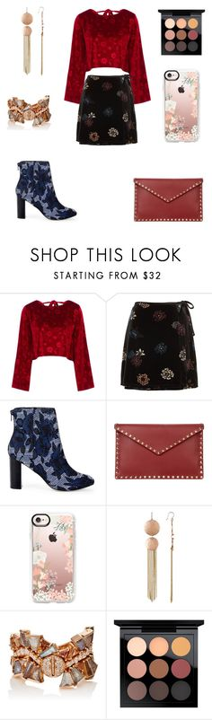 """""""Sans titre #1425"""" by wali-emna on Polyvore featuring mode, Vjera Vilicnik, Sole Society, Valentino, Casetify, Lucky Brand, Nak Armstrong et MAC Cosmetics"""