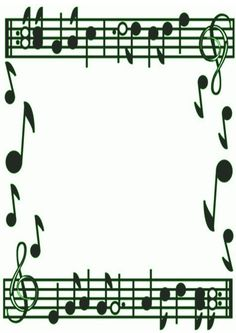 Music Note Border Clipart | Clipart Panda - Free Clipart Images Borders For Paper, Borders And Frames, Musical Notes Clip Art, Music Border, Fancy Music, Music Note Symbol, Music Notes Background, Music Clipart, Page Borders Design